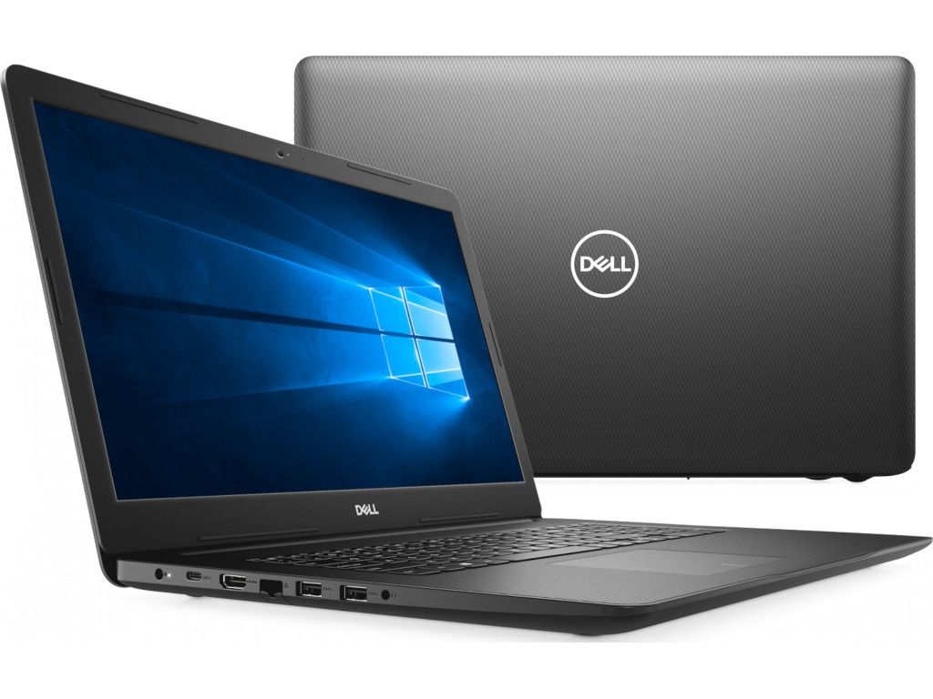 Ноутбук Dell Inspiron 3793 Black 3793-8566 (Intel Core i5-1035G1 1.0 GHz/8192Mb/1000Gb + 128Gb SSD/DVD-RW/nVidia GeForce MX230 2048Mb/Wi-Fi/Bluetooth/Cam/17.3/1920x1080/Windows 10 Home 64-bit) ноутбук msi gp62 6qf 466ru 9s7 16j522 466 intel core i7 6700hq 2 6 ghz 8192mb 1000gb dvd rw nvidia geforce gtx 960m 2048mb wi fi bluetooth cam 15 6 1920x1080 windows 10 64 bit