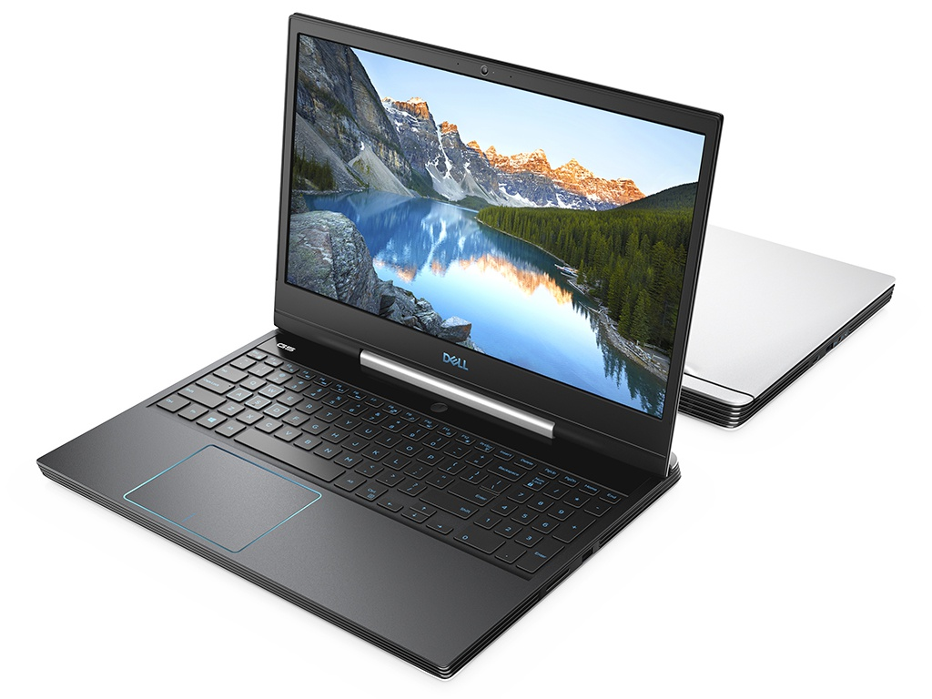 Ноутбук Dell G5 5590 White G515-8559 (Intel Core i7-9750H 2.6 GHz/16384Mb/1000Gb + 256Gb SSD/nVidia GeForce RTX 2060 6144Mb/Wi-Fi/Bluetooth/Cam/15.6/1920x1080/Linux)