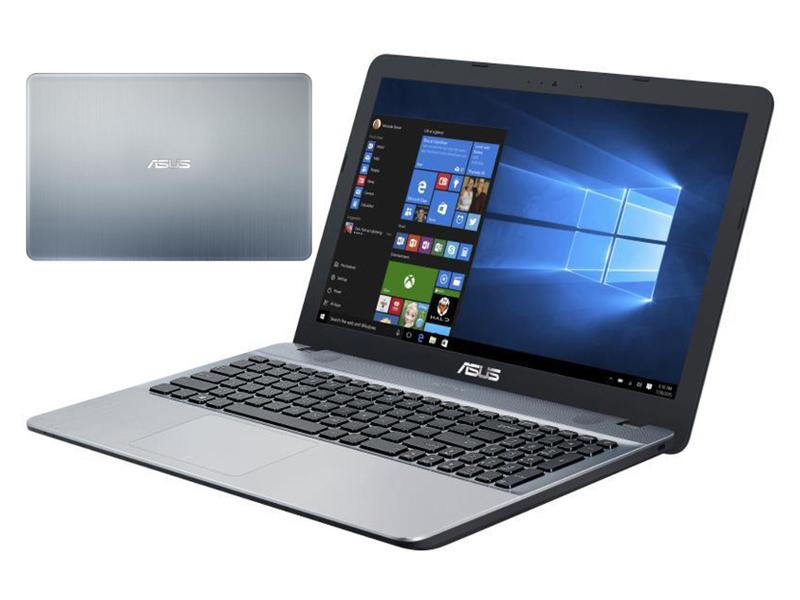 Ноутбук ASUS VivoBook X541SA-XO687T Silver 90NB0CH3-M13570 (Intel Pentium N3710 1.6 GHz/4096Mb/500Gb/Intel HD Graphics/Wi-Fi/Bluetooth/Cam/15.6/1366x768/Windows 10 Home 64-bit) ноутбук asus x541sa 90nb0ch1 m04950