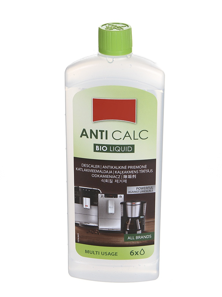 Средство для чистки Melitta Anti Calc Bio L 250ml