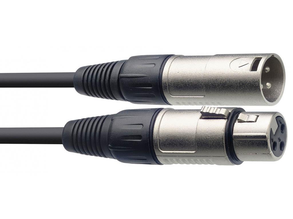 Шнур Proel XLR-XLR 50cm BULK250LU05
