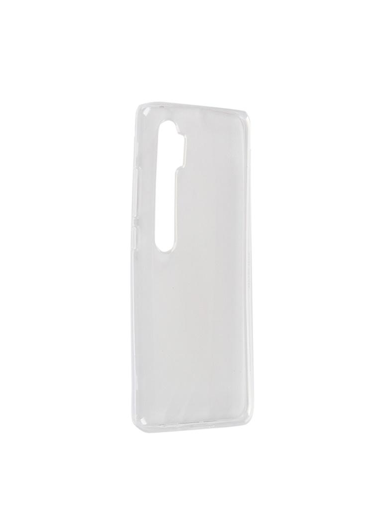 Чехол iBox для Xiaomi Mi Note 10 Crystal Transparent УТ000019640