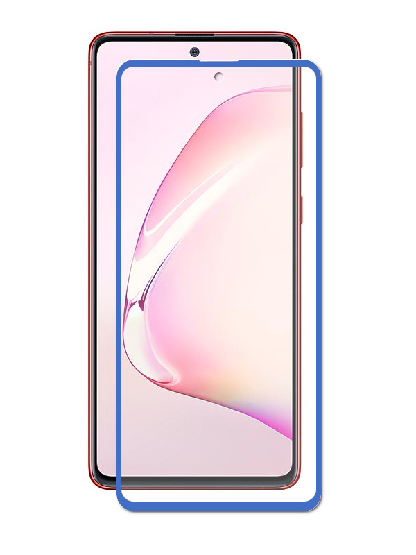 Защитный экран Red Line для Samsung Galaxy Note 10 Lite Full Screen Tempered Glass Glue Blue УТ000019651