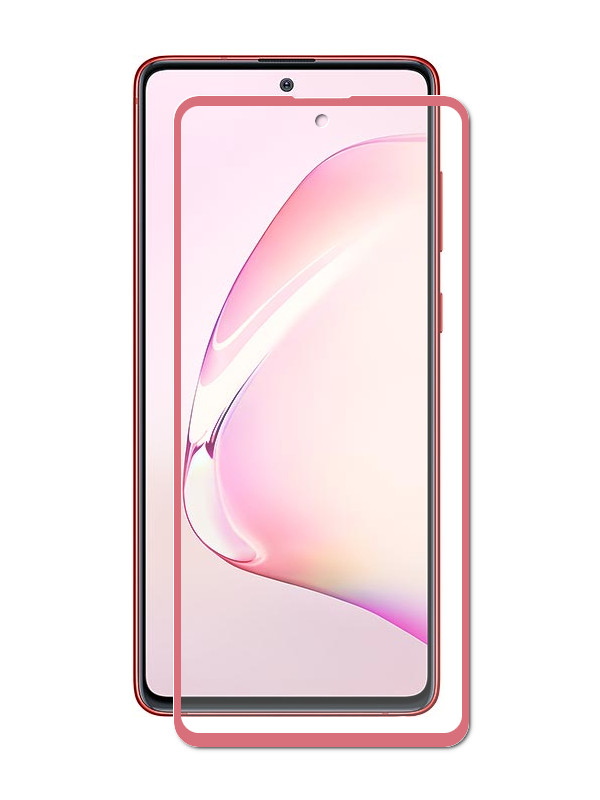 Защитный экран Red Line для Samsung Galaxy Note 10 Lite Full Screen Tempered Glass Glue УТ000019654