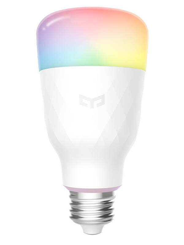 Фото - Лампочка Xiaomi Yeelight LED Smart Bulb 1S RGB E27/800lm YLDP13YL лампочка xiaomi mi led smart bulb 2 pack mjdp02yl e27 10вт