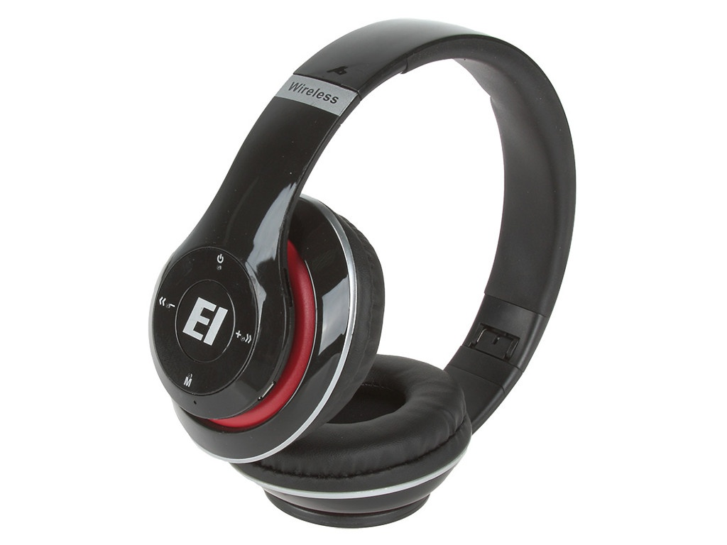 Наушники Eltronic Bluetooth/FM/Micro SD/AUX Black 4462