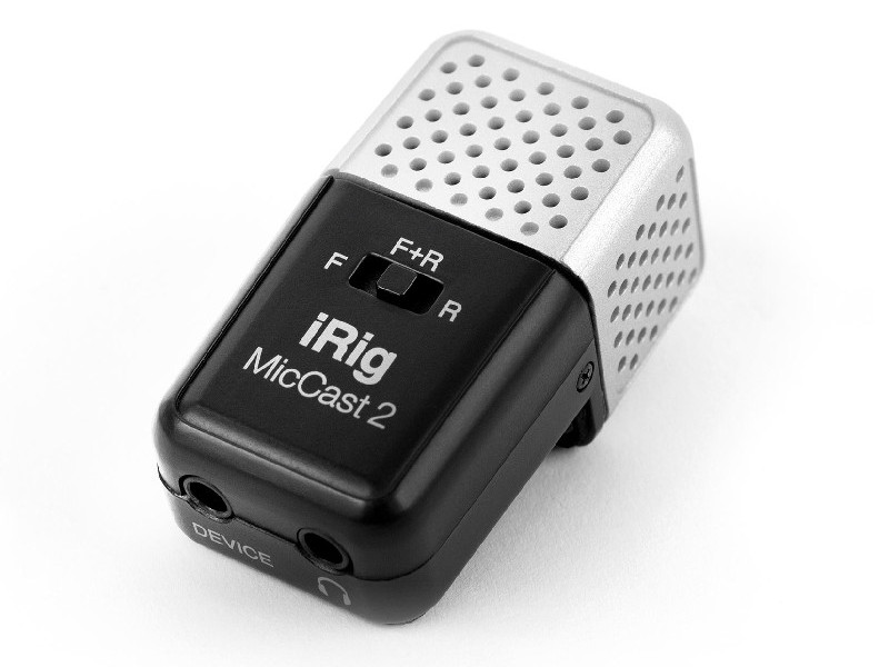 Микрофон IK Multimedia iRig Mic Cast 2 IP-IRIG-CAST2-IN