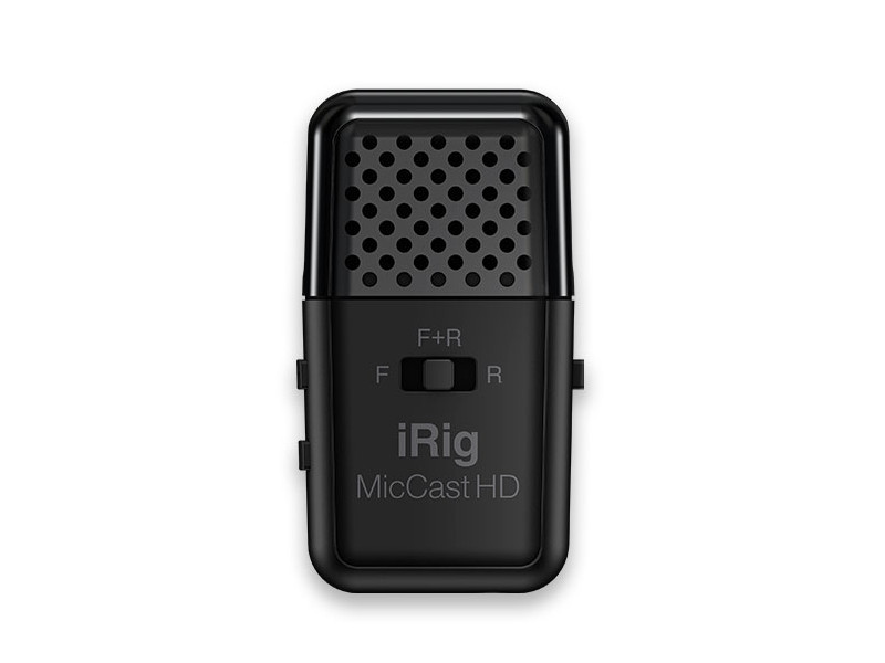 Микрофон IK Multimedia iRig Mic Cast HD IP-IRIG-CASTHD-IN