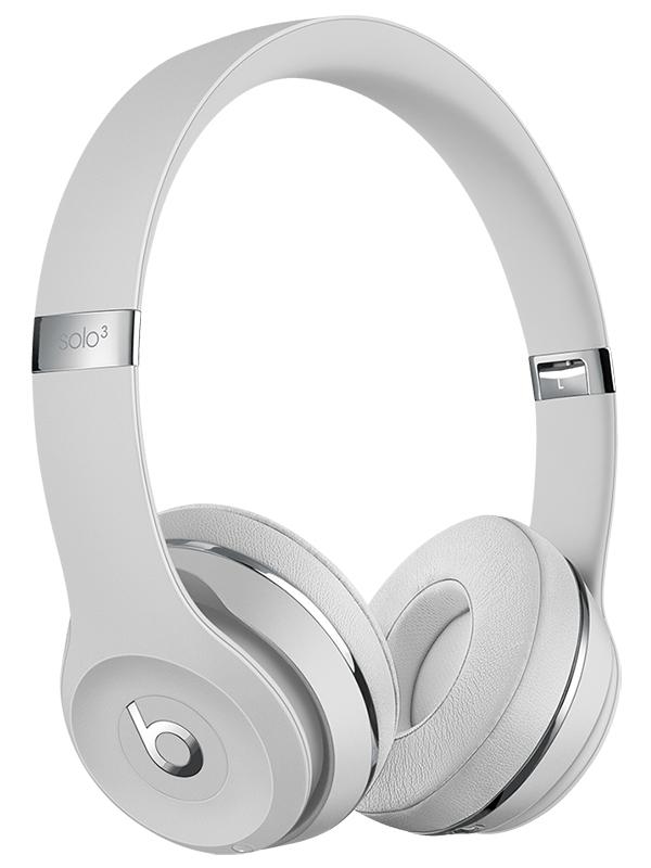 Наушники Beats Solo3 Wireless Headphones Satin Silver MX452EE/A