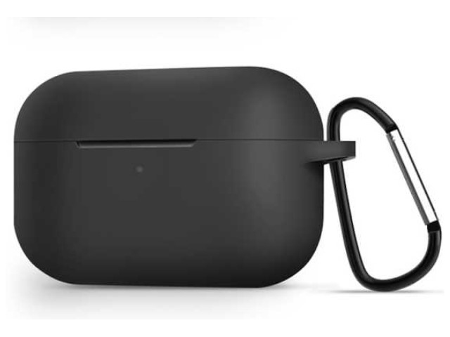 Чехол Zibelino для APPLE AirPods Pro Silicon Case Black ZCCWC-AIR-PRO-BLK