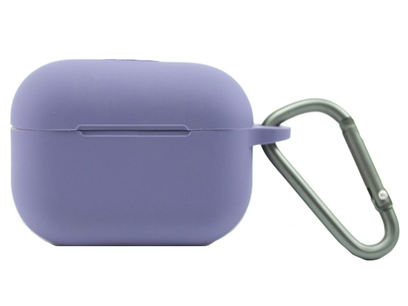 Чехол Zibelino для APPLE AirPods Pro Silicon Case Violet ZCCWC-AIR-PRO-PUR