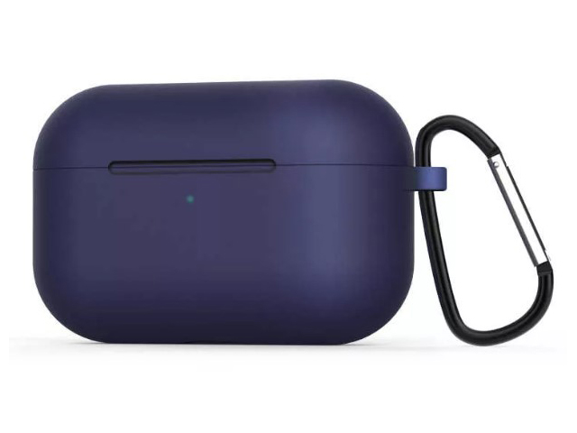 Чехол Zibelino для APPLE AirPods Pro Silicon Case Blue ZCCWC-AIR-PRO-BLU