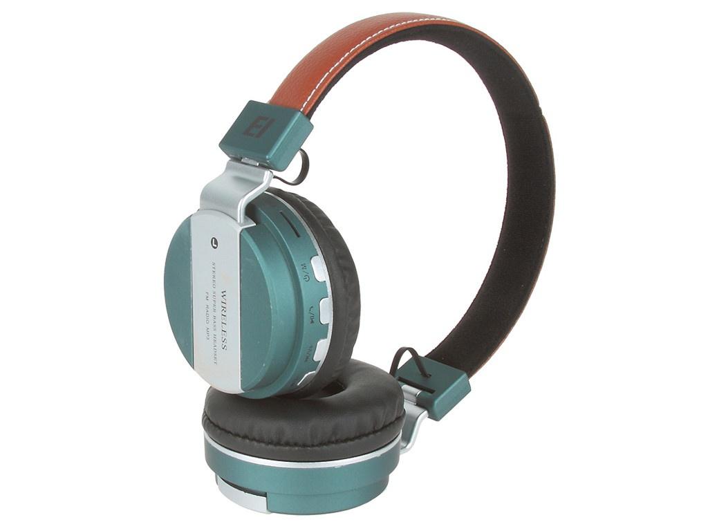 Наушники Eltronic Bluetooth/FM/Micro SD/AUX Dark Turquoise 4464