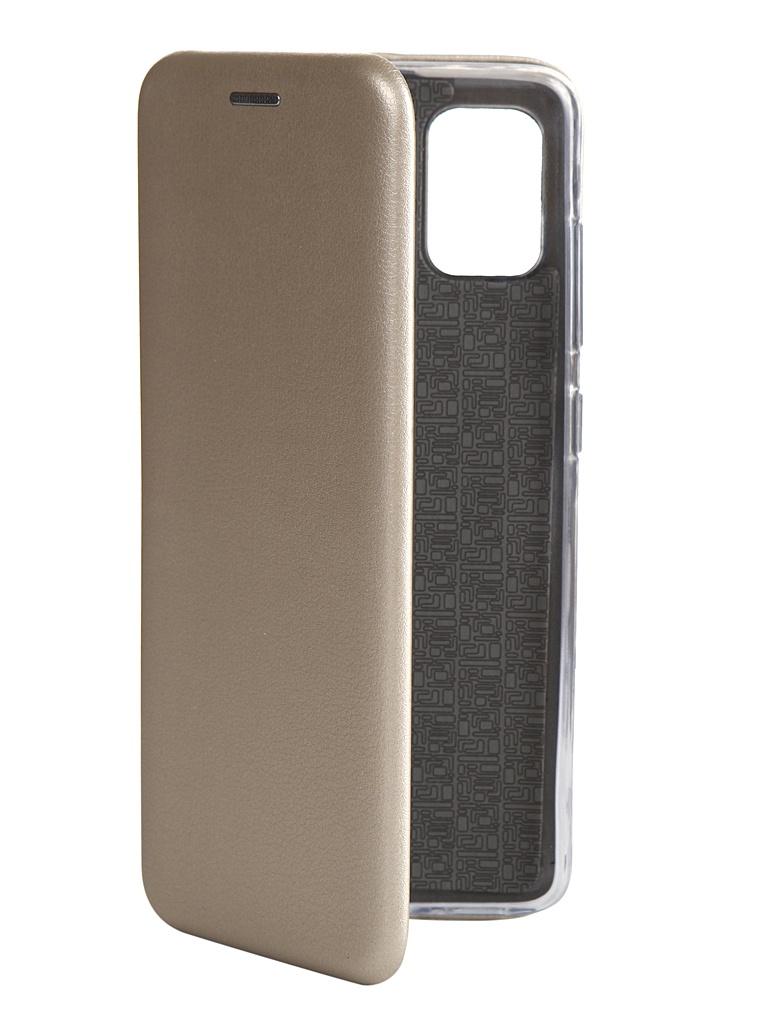 Чехол Zibelino для Samsung Galaxy A51 A515 Book Gold ZB-SAM-A515-GLD