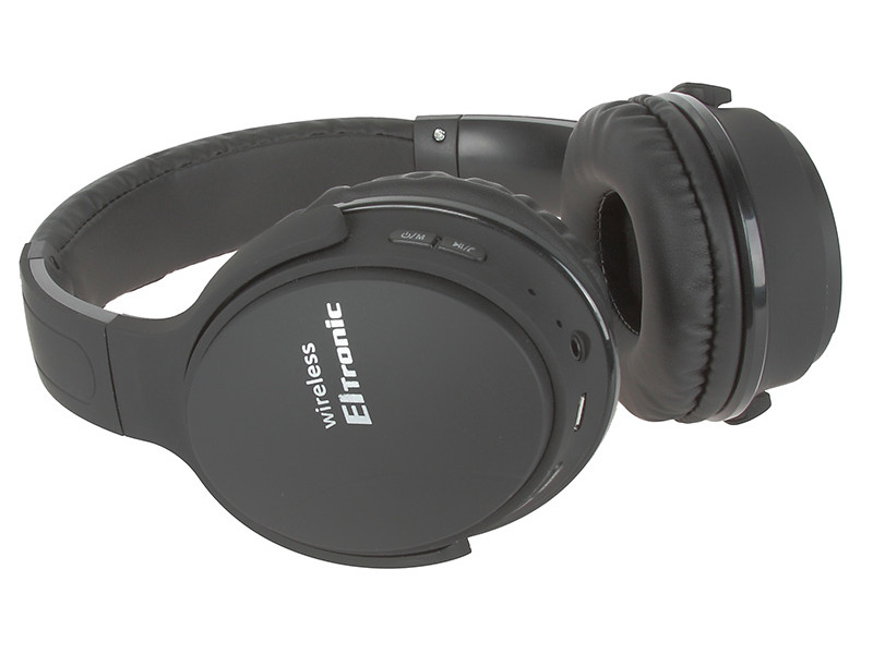 Наушники Eltronic Bluetooth/FM/Micro SD/AUX Black 4466