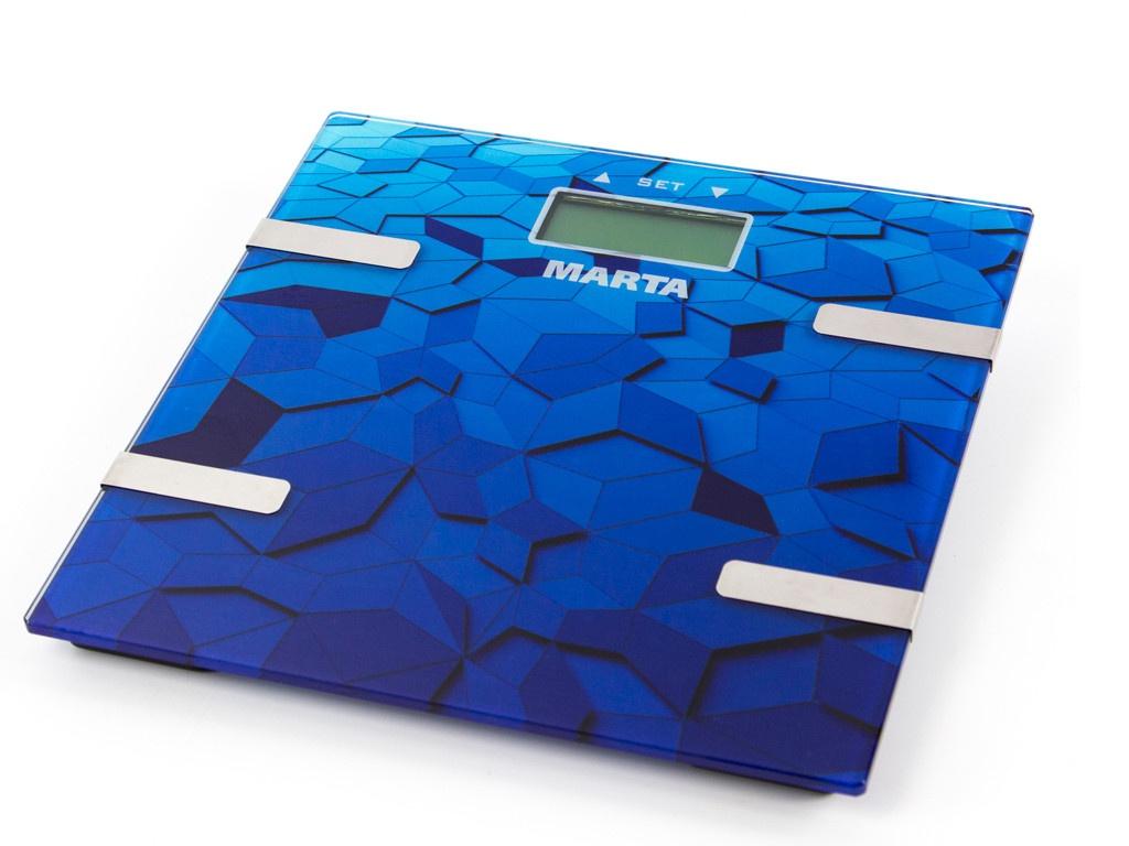 Весы напольные Marta MT-1675 Blue Sapphire