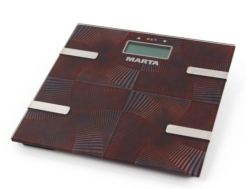 Весы напольные Marta MT-1675 Brown Onyx