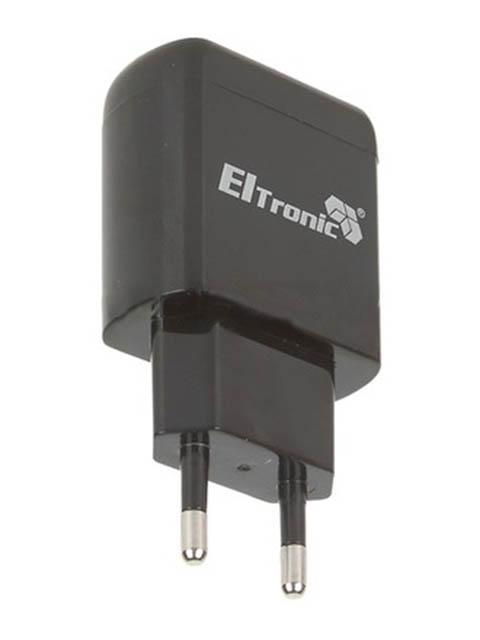 Зарядное устройство Eltronic Faster 2xUSB 3.1A Black 5685