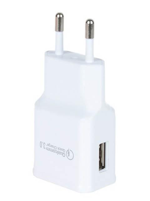 Зарядное устройство Eltronic Faster USB 2.1A White 5690