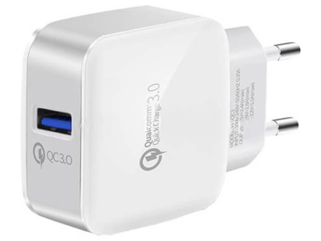 Зарядное устройство Eltronic Faster Storm USB 3000mAh/5V White 5689
