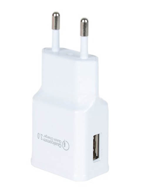 Зарядное устройство Eltronic Faster Micro USB 2.1A White 5699
