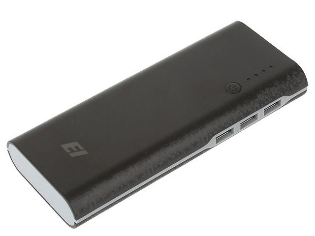 Внешний аккумулятор Eltronic Power Bank 16000mAh Black 66006ch