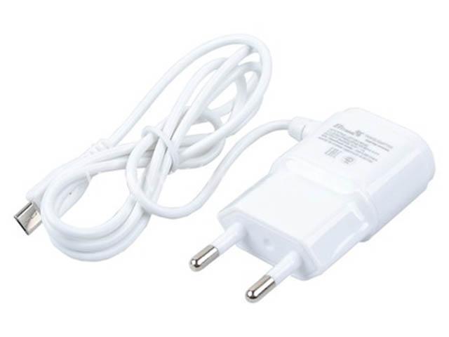 Зарядное устройство Eltronic Micro USB 1A White 5501