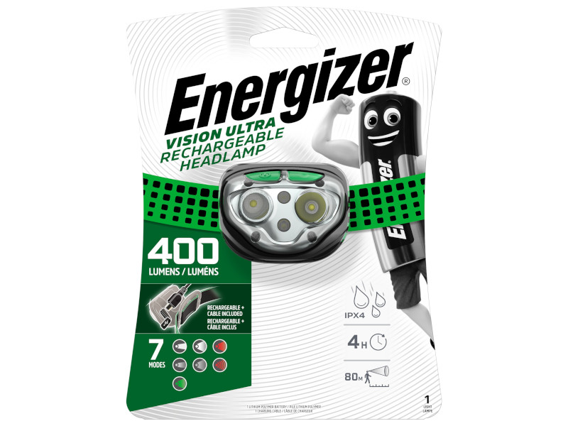 цена на Фонарь Energizer Rechargeable HeadLight HDFRLP E301528200 / 43986