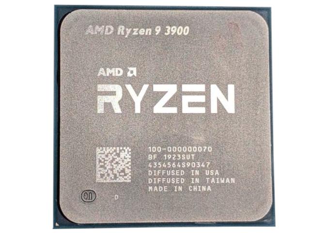 Процессор AMD Ryzen 9 3900 (3100MHz/AM4/L2+L3 71680Kb) OEM