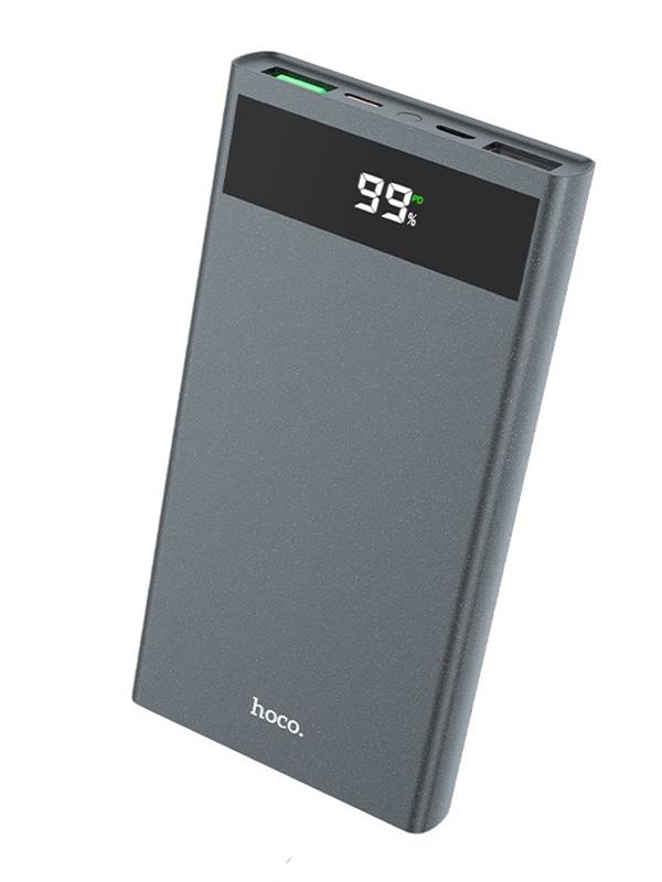 Внешний аккумулятор Hoco Power Bank J49 Jewel 10000mAh Grey аккумулятор hoco upb05 10000mah white