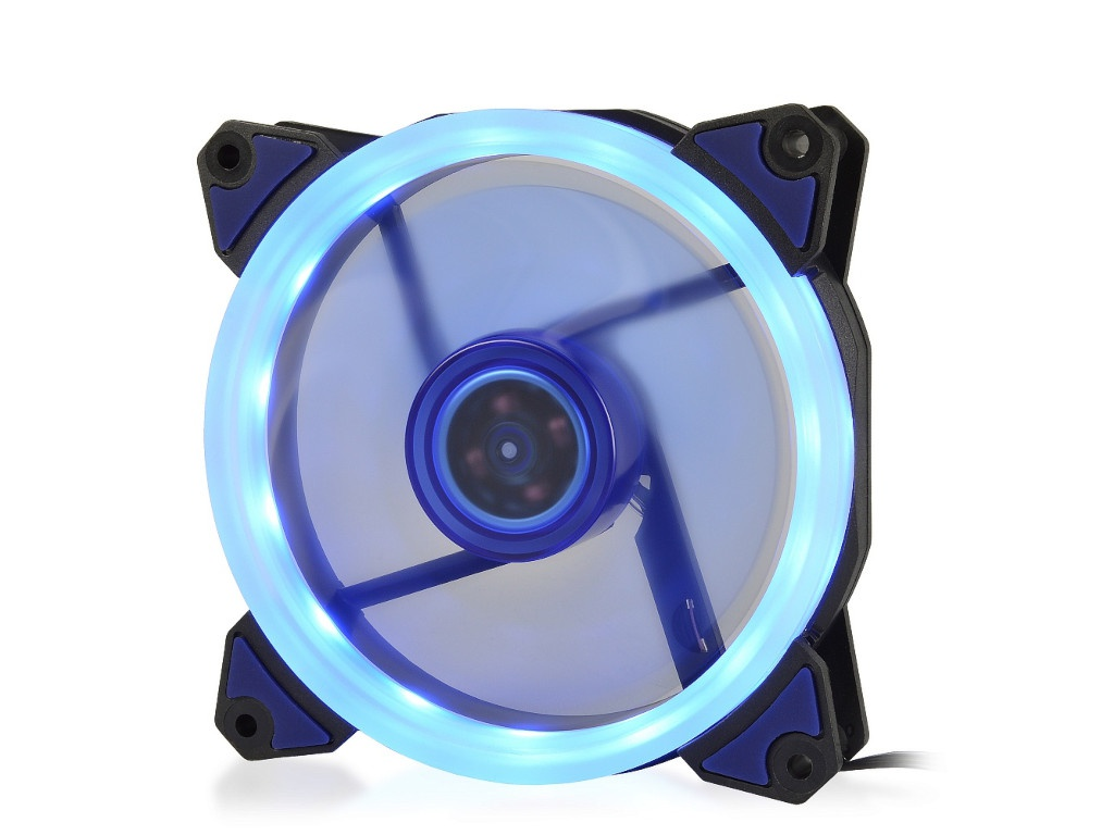 Вентилятор Crown 120mm Blue LED CMCF-12025S-1231