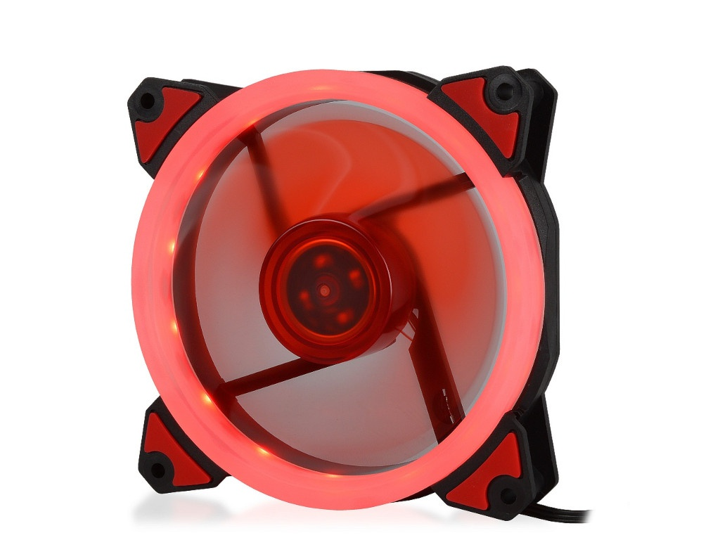 Вентилятор Crown 120mm Red LED CMCF-12025S-1230