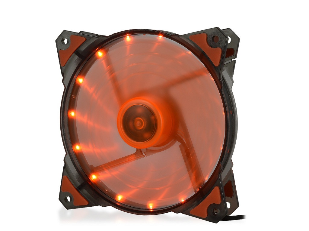 Вентилятор Crown 120mm Orange LED CMCF-12025S-1223