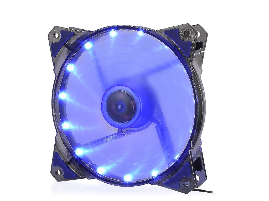 Вентилятор Crown 120mm Blue LED CMCF-12025S-1221