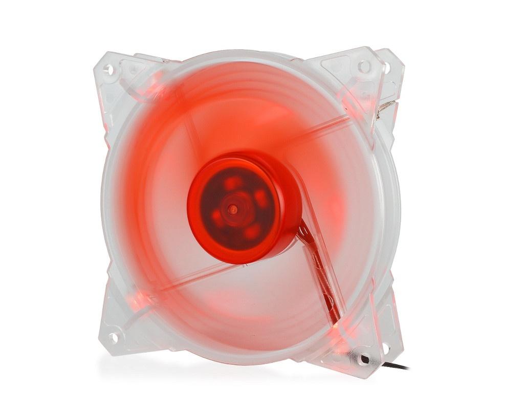 Вентилятор Crown 120mm Red LED CMCF-12025S-1210