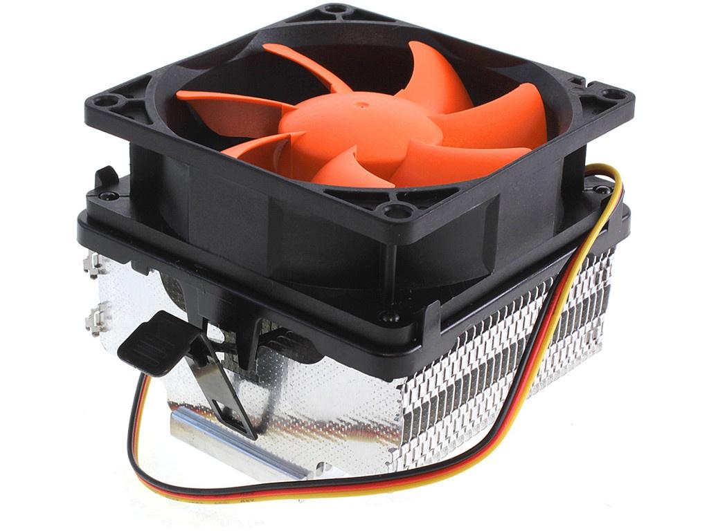Кулер Crown CM-82 (Intel LGA 775/1155/1150/1156/1151 AMD AM2/AM2+/AM3/AM3+/FM1/FM2) система водяного охлаждения corsair h60 s1155 1156 1151 s2066 s2011 am2 am3 am3 am3 cw 9060036 ww ret