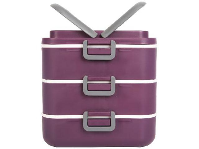 лучшая цена Ланч-бокс Bekker BK-4374 Purple