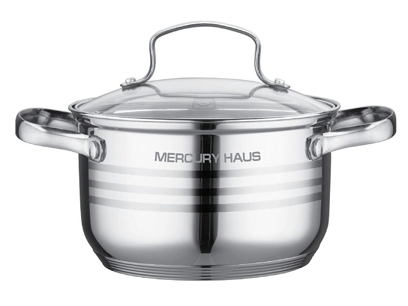 Кастрюля Mercury Haus 24x14cm 6.1L MC-7056