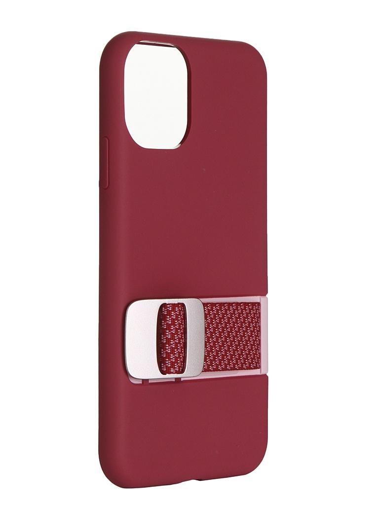 Чехол Moshi для APPLE iPhone 11 Capto с ремешком MultiStrap Pink 99MO114304