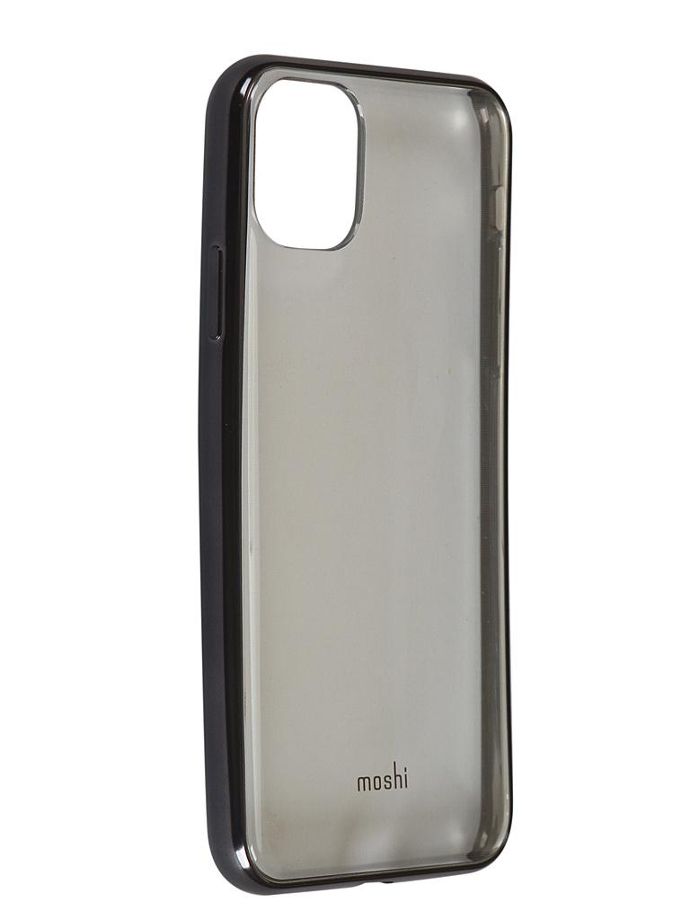 Чехол Moshi для APPLE iPhone 11 Pro Max Vitros Transparent-Black 99MO103038 чехол moshi для apple iphone 11 pro max altra beige 99mo117305