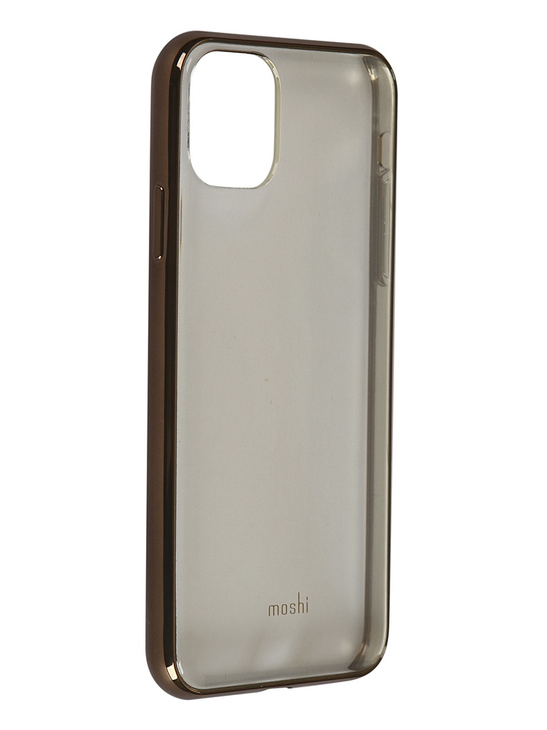 Чехол Moshi для APPLE iPhone 11 Pro Max Vitros Transparent-Gold 99MO103305