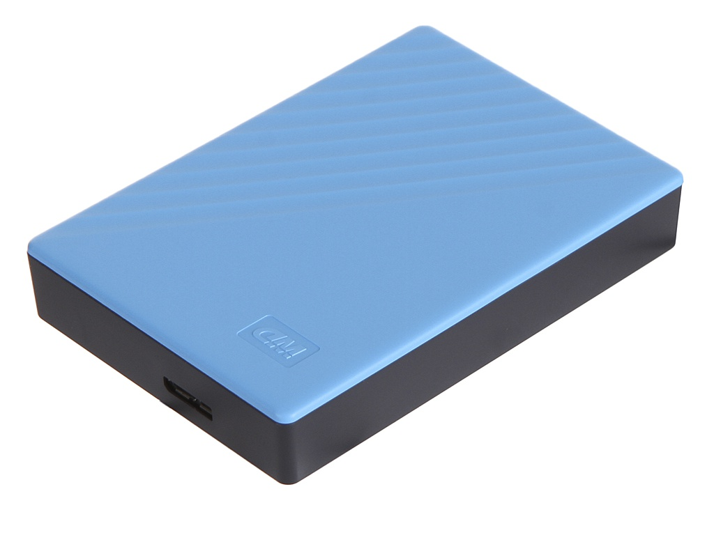 Жесткий диск Western Digital My Passport 4Tb Blue WDBPKJ0040BBL-WESN жесткий диск wd original usb 3 0 4tb wdbpkj0040brd wesn my passport 2 5 красный