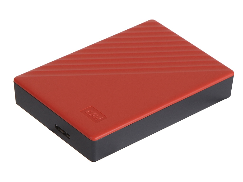 Жесткий диск Western Digital My Passport 4Tb Red WDBPKJ0040BRD-WESN жесткий диск wd original usb 3 0 4tb wdbpkj0040brd wesn my passport 2 5 красный