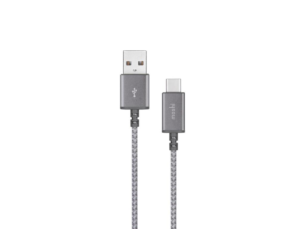 Аксессуар Moshi Integra USB Type-C - USB-A 25cm Grey 99MO084044