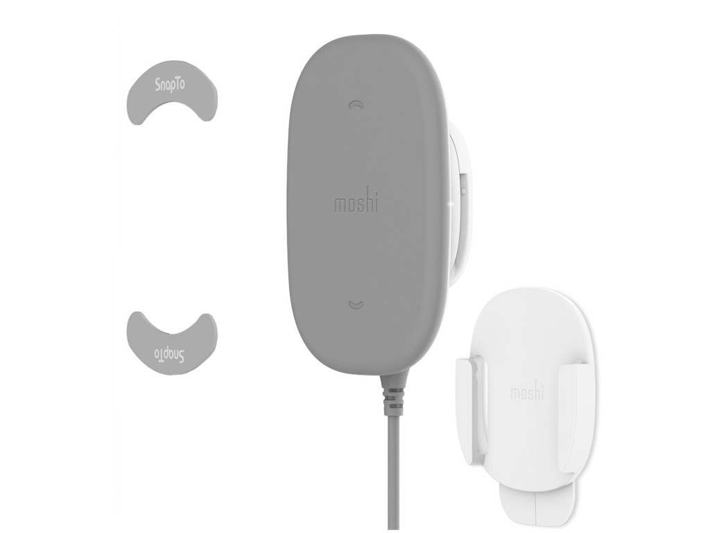 Зарядное устройство Moshi SnapTo Wireless Charger Grey 99MO122011