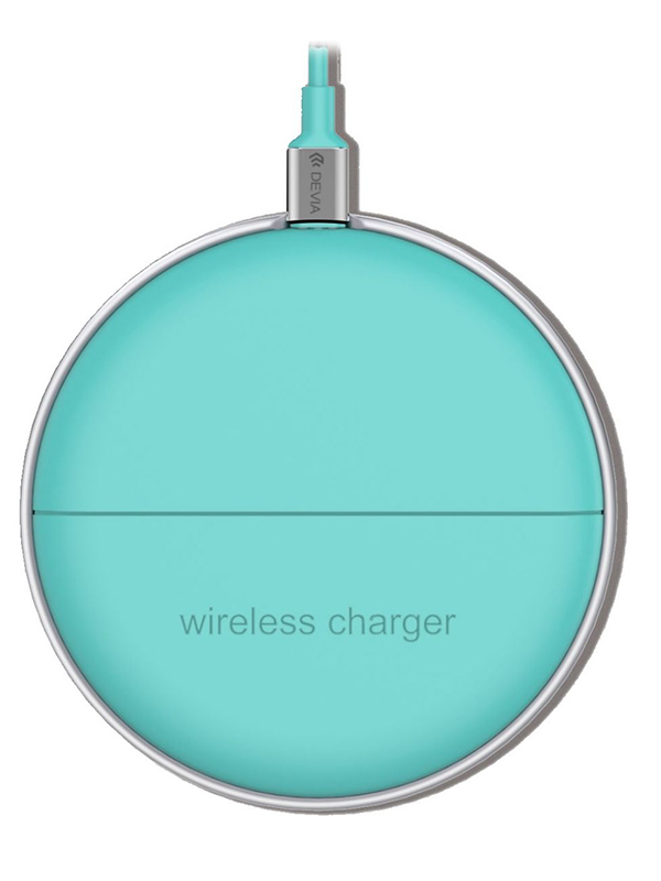 Зарядное устройство Comma Kinyo Ultra Thin Wireless Charger Blue