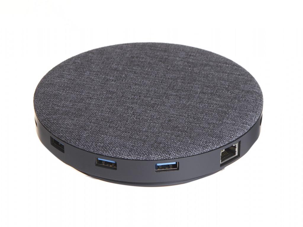 цена на Зарядное устройство Devia UFO 10 in 1 Hub Wireless Charger Grey