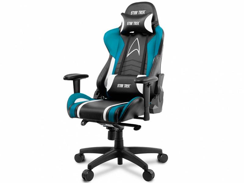 Компьютерное кресло Arozzi Gaming Chair Star Trek Edition Blue