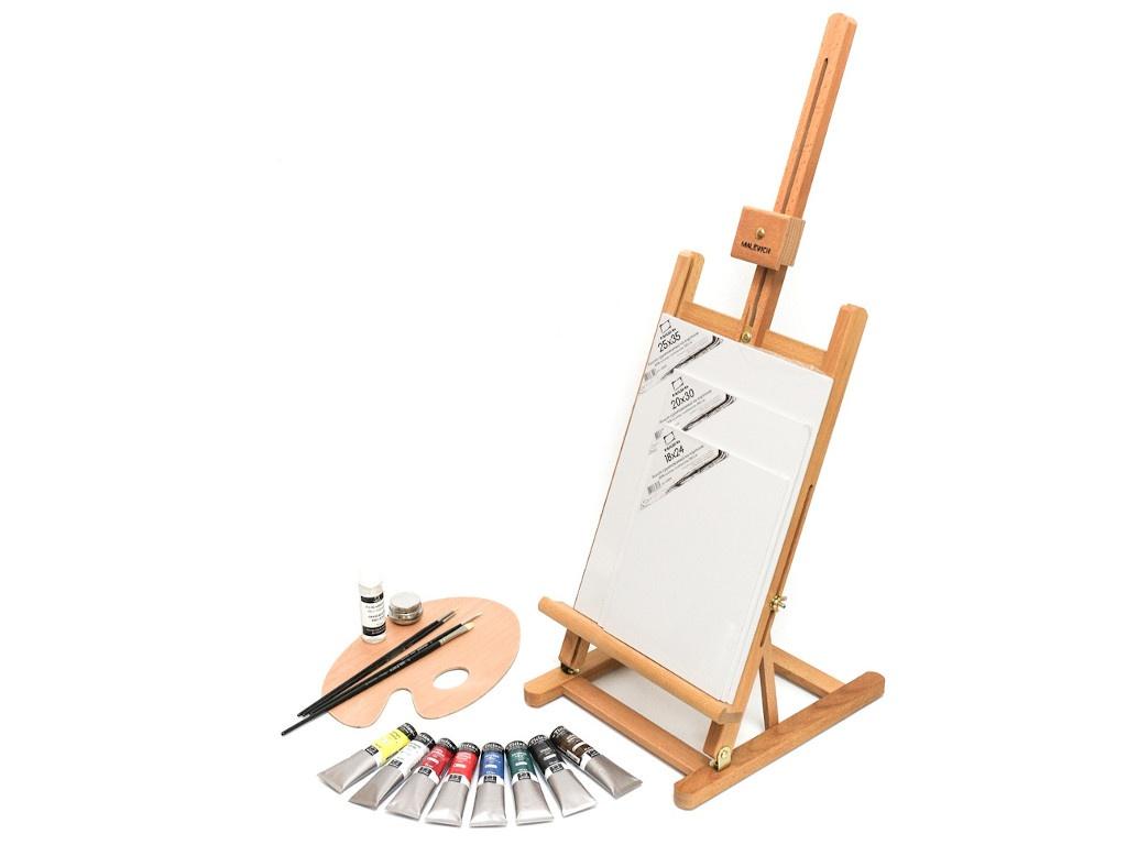 Стартовый набор для живописи маслом Малевичъ МЛ-57 830210
