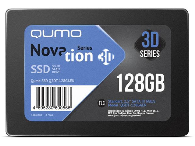 Жесткий диск Qumo Novation 128Gb Q3DT-128GAEN
